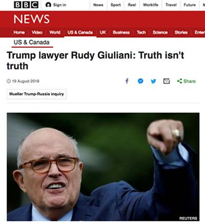 rudy giuliani fake mayor fox fake news rupert murdoch fake news on fox nyc