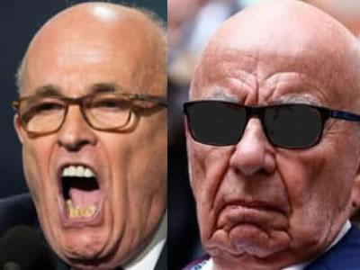 giuliani photo rupert murdoch photos